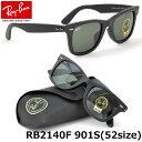 【Ray-Ban】(レイバン) ウェイファーラー サングラス RB2140F 901S 52サイズ フルフィット レイバン RAYBAN WAYFARER メン...