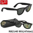 【Ray-Ban】(レイバン) ウェイファーラー サングラス RB2140 901 47サイズ レイバン RAYBAN WAYFARER メンズ レディース