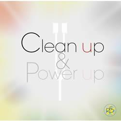 Clean up & Power up power-ups クリーンアップアンド