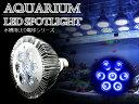 交換球 LED スポットライト 青7灯 照射角60度 水槽用照明 LED照明 LEDライト 【アクアリウム 熱帯魚 淡水魚 海水魚 水草 サンゴ イソギンチャク ミドリイシ シャコガイ 観賞魚 水槽 レイアウト】