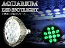 交換球 LED スポットライト シアン12灯 照射角60度 ...