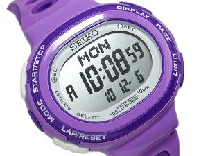 Seiko Rukia Womens watch purple running running style digital SSVD005