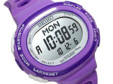 【SEIKOLUKIA】セイコールキアランニングスタイルデジタルランニング用レディース腕時計パープルSSVD005【正規品】