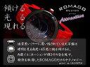 romago design ロマゴデザイン 男女兼用腕時計 オートライト機能 黒×赤 rm015-0162pl-bkrd