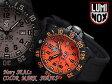 【LUMINOX NAVY SEALs Color Mark Series】ルミノックス メンズ腕時計 SARオレンジ ラバー 3059.SAR 3059-SAR【ネコポス不可】
