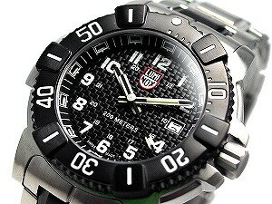 Luminox men's watches Evo Navy Seals collection black dial x silver case 6102