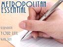 【WATERMAN】ウォーターマン METROPOLITAN メトロポリタン エッセンシャル ボールペン 油性 ステンレススチールCT S2259372 WM-METROPE..