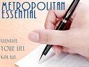 【WATERMAN】ウォーターマン METROPOLITAN メトロポリタン エッセンシャル ペンシル シャープペン 0.5mm ブラックCT WM-METROPES-SP-BK..