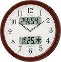 電波掛時計 スタンダード ネムリーナカレンダーM01 4FYA01-006
