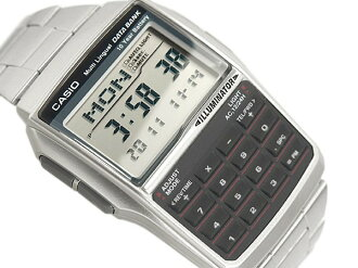 Casio databank calculator features digital watch imports overseas model silver DBC-32D-1A