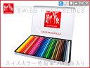【CARAN d'ACHE】カランダッシュ Swiss flag スイスフラッグ 色鉛筆セット 水溶...