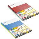 【ロジカルノート B5サイズ5冊パック】人気芸人『ロザン』と共同開発の、行間が作れる補助罫付きノート※1パックのみDM便(選択必須)可能[ナカバヤシ][M在庫]