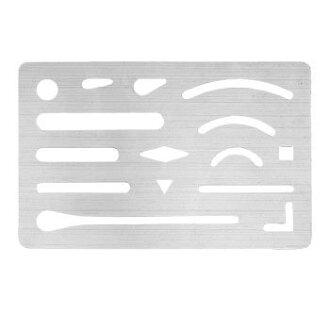 [不銹鋼形橡皮板 1-820-0000] 耐彎折不銹鋼鋼形橡皮板 * DM 航班 (選擇所需) 可用 [學生]