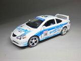 ホンダ インテグラ タイプR (1/34サイズ) レース仕様 【 プルバック式 ダイキャストミニカー 世界の名車シリーズ】 HONDA Integra Type-R レースカー 本