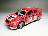 三菱 ランサーエボリューション VII WRC 2001 ラリーサンレモ (1/36サイズ) レース仕様 【プルバック式ダイキャストミニカー?世界の名車シリーズ】 MITSUBISHI Lancer
