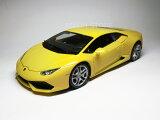 ランボルギーニ ウラカン (2014) 1/18 サイズ (パールイエロー)【 インテリアカー ・世界の名車シリーズ】 Lamborghini Huracan LP 610-4