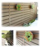 ディーズガーデン/アルファウッド 板幅B120×12タイプ 〜リアルな木目の目隠し樹脂フェンス〜 本体:板材のみ