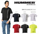 ショッピングアタック ハマー HUMMER メンズ ドライ DRY Tシャツ 9055-15-3L S〜3L ネイビー ホワイト レッド ブラック ライム アタックベース