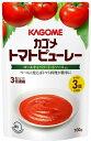 カゴメ トマトピューレー 100g まとめ買い(×5) 4901306012567:調味料(c1-tc)