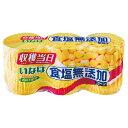 いなば 食塩無添加コーン 3缶パック E200g×3 まとめ買い(×8)|4901133966040(dc)