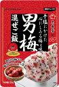 大森屋 男梅混ぜご飯 25g まとめ買い(×10)|4901191