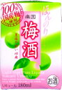 清洲桜醸造 梅酒 ミニパック 180ml まとめ買い(×5)