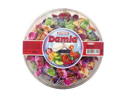 ダムラ ソフトキャンディ フルーツアソート 300g まとめ買い(×24)|8690997176110:菓子(c1-tc)