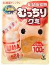 味覚糖 むっちりグミ 乳酸菌ドリンク 100g まとめ買い(×10)  4902750682382