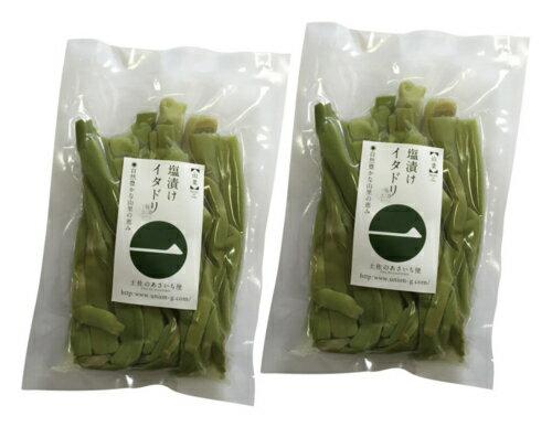 【エントリーでポイント5倍! 〜7/21 01:59まで】塩漬けイタドリ(500g×2袋) 11768:野菜