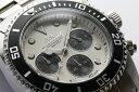 20気圧防水 ダイバーズ クロノグラフ 腕時計 メンズ 日本...