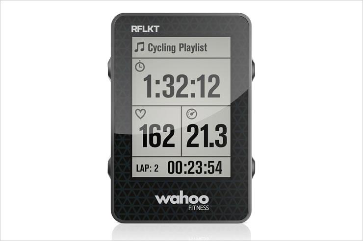 Wahoo Fitness サイクルコンピュータ RFLKT フィットネスアクセサリ iPhone【_包装】【02P11Apr15】 フィットネス スポーツ iPhone アプリ対応 自転車 アクセサリ サイクルコンピュータ RFLKT