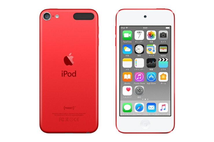 iPod touch 本体 (PRODUCT)RED APPLE アイポッド タッチ 赤 レッド アップルストア限定カラー 64GB【_包装】【02P11Apr15】 iPod touch APPLE アイポッドタッチ 赤 レッド 限定カラー 64GB 本体