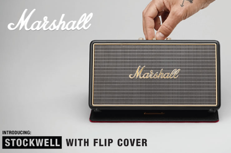 Marshall Headphones マーシャル スピーカー STOCKWELL ストックウェル フリップカバー無し ポイント10倍