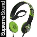 Skullcandy Cassette Headphones w/Mic Lurker Toxic Flyer (2012 Color), One サイズ 『海外取寄せ品』