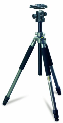Giottos MT9251 + MH1000-652 Aluminum Tripod Series II with MH1000-652 Ball Head and クイック リリース (海外取寄せ品)