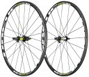URSUS Wheels Miura T24 Tubular Wheelset with Campagnolo Sticker, イエロー Fluorescent (海外取寄せ品)