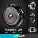 Neewer 28mm f/2.8 マニュアル フォーカス プライム フィックス レンズ for ソニー E-Mount デジタル Cameras, Such as NEX3, 3N, 5, 5T, 5R, 6, 7, A5000, A5100, A6000, A6100 and A6300 (NW-E-28-2.8) (海外取寄せ品)