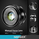 Neewer 50mm f/2.0 マニュアル フォーカス プライム フィックス レンズ for ソニー E-Mount デジタル Cameras, Such as NEX3, 3N, 5, 5T, 5R, 6, 7, A5000, A5100, A6000, A6100 and A6300 (NW-E-50-2.0) (海外取寄せ品)