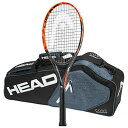 Head 2016-2017 Graphene XT ラジカル MP A テニス Racquet - STRUNG with 3 Racquet Bag (4-5/8, 16x19 normal pattern) (海外取寄せ品)