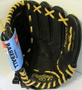 Rawlings Playmaker Series 11-インチ Youth ベースボール Glove Mitts Infield/Outf...