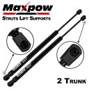 Maxpow Qty 2 Rear Trunk Gas スプリング プロップ Lift Support Struts Compatible With 2004 2005 2006 2007 2008 2009 2010 Audi A8 & A8 Quattro SG301045-046 (海外取寄せ品)[汎用品]