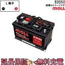 83050 自動車 バッテリー モル 交換 MOLL 欧州車...