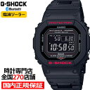 【ポイント最大47倍&最大2000円OFFクーポン】G-SHOCK ジーショック GW-B5600HR-1JF カシオ メンズ 腕時計 電波ソーラー デジタル ブラック スピード スクエア 国内正規品