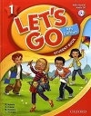 送料無料!【Let's Go 1 Student Book With Audio CD Pack (4th Edition)(旧版)】子ども英語教材