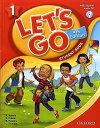 送料無料!【Let's Go 1 Student Book With Audio CD Pack (4th Edition )】子ども英語教材【RCP】