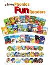 【Phonics Fun Readers Full Set (本25冊・CD付き)】 送料無料!児童英語フォニックス【RCP】