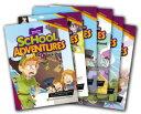 送料無料!CD付き!英語の多読にもおすすめ!【School Adventures Graded Comic Readers Level 2 Set (6冊セット...