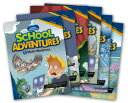 送料無料!CD付き!英語の多読にもおすすめ!【School Adventures Graded Comic Readers Level 3 Set (6冊セット...