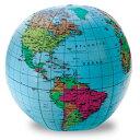 送料無料!【地球儀( ビーチボール型)】Inflatable World Globe子ども英語 英単語