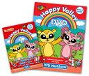 送料無料!【Happy Valley 1 DVD + DVDワークブック セット】児童英語DVD 【RCP】(赤ちゃん 英語 ベビー英語 幼児英語 子ども英語 ...